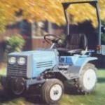 minitraktor t012d