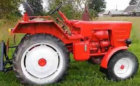 Ремонтируем трактор